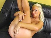 Blonde beauty in basque dildoing her anus!!! xxx videos