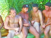 Una gran org�a en la piscina videos gay