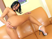 2 huge dildos for a pierced Mulatto!!! xxx videos