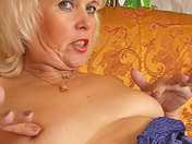 Ex-prison warder, mature blonde who has switched to porn!  adult video