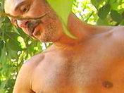 Two hairy guys under a tree gay porn videos