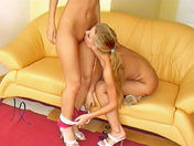 Two pretty lesbians aged 18 fucking like crazy!!! adult video