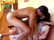 Gorgeous tranny Clarissa Ribeiro rimmed by the swim trainer xxx video