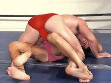 Humiliation sportive entre lutteurs !