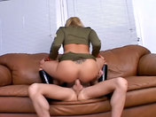 Slutty Lieutenant bum-fucked by the General!  xxx videos