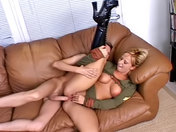 Slutty Lieutenant bum-fucked by the General!  xxx video