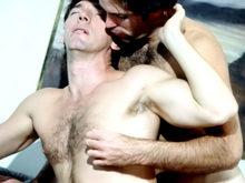 Sexe hard entre bears amateurs sauvages ;-) !