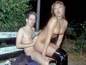 A virgin gets fucked in a park by a Fairy!!! adult video