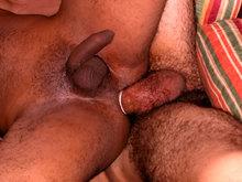 Un cowboy Blanc bec baise un rappeur de la cité
