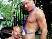 Cuisine au sperme pour deux légionnaires bears video x gay