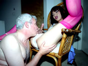 ¡A Papy le gusta los transexuales! video sexo