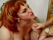 Mature shemale has it off with a young man! sex video