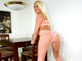 Blonde sexuellement agressive se fait dresser ;-) !