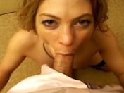 ¡Pelirroja cachonda futura estrella porno ;-)! video sexo