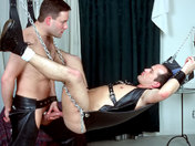 Lionel and André go all the way - the BDSM way ;-)! Cockrings and leather! gay videos