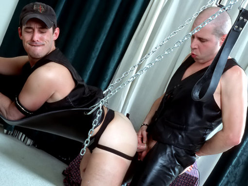 Mature gay séance bdsm domination soumission