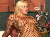 Surprise! This blonde squirts cum through her bum! porn videos