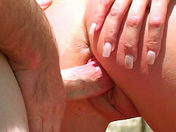 Amateur sex in the woods! Female ejaculation in the sun! adult video