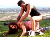 Sex in the open countryside ;-)! xxx video