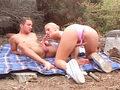 Amatrice fontaine baise sur une plage niçoise !