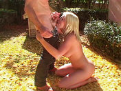 Missy Monroe squirts and gets shagged in her garden! xxx video