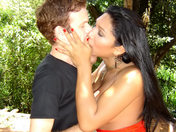 Gorgeous Shemale humped in the woods!!! xxx video