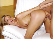 Raped by a horny blonde xxx video