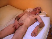 He stuffs his prick deep down his throat gay movie