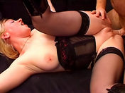 French video: Helping a woman calm down!  xxx video