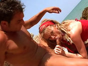 On the desert beach...come and suck me!  xxx video