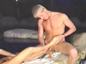The delivery boy and his customer do it before a perverted guy's eyes  gay movie