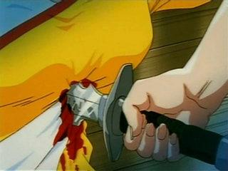 Vid�o Hentai FR : Sexus Plans VOL.2 - Part 4 - Apr�s avoir compris que le professeur Tadakoro, le responsable du Plan Sexus d�c�d� d'un accident, a transf�r� son esprit dans celui d'Eroki ... les filles d�cident de retrouver leur camarade. Cette derniere entierement nue, les fesses et les seins magnifiquement gonfl�s, est � deux doigts de faire �trangl�e par Eroki avant que K�oru ne parvienne � l'aider.