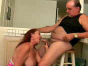 An old couple screw as in the good old days sex video