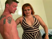 The 45-year-old housewife blows the two engineers porn videos