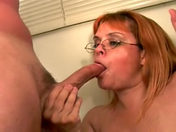 The 45-year-old housewife blows the two engineers xxx videos