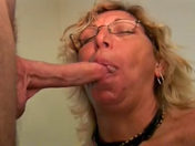 The mamma pulls her son's mate's wire and swallows his spunk!!! xxx video