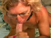 The mamma pulls her son's mate's wire and swallows his spunk!!! porn videos