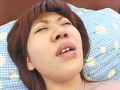 Vibe, fuck and cum for a naughty Japanese babe! adult video