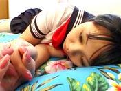 Ecolière Jap' engodée, baisée, enfoutrée !