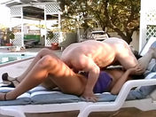 A vulgar brunette gets shagged by a dwarf who's in control! sex video