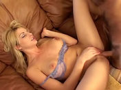 Mature woman keeps stimulating her clit while getting fucked!  adult video