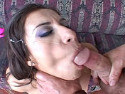 This nasty tart takes two pricks up her holes... porn video