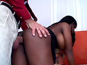 2 little black sluts and 2 horny white sods xxx video