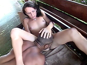 A shemale on my deckchair xxx video