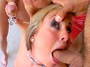 two penises up the submissive slut's ass adult video