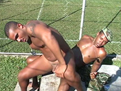 The black soldiers have it away gay video
