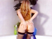 INVADE A BEAUTIFUL REDHEADED'S PRIVACY! adult video