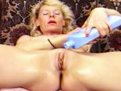 An older wench is relaxing adult video