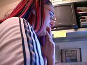 Large-plaited brunette and backstroke roulette porn videos