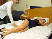 How to arouse a sleeping woman xxx videos